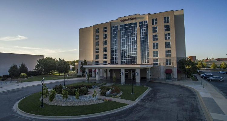 Capitol Plaza Hotel, Topeka, KS - site of 2019 AMCA National Specialty